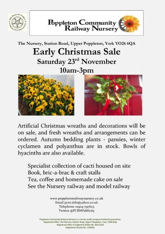 Early Christmas Open Day